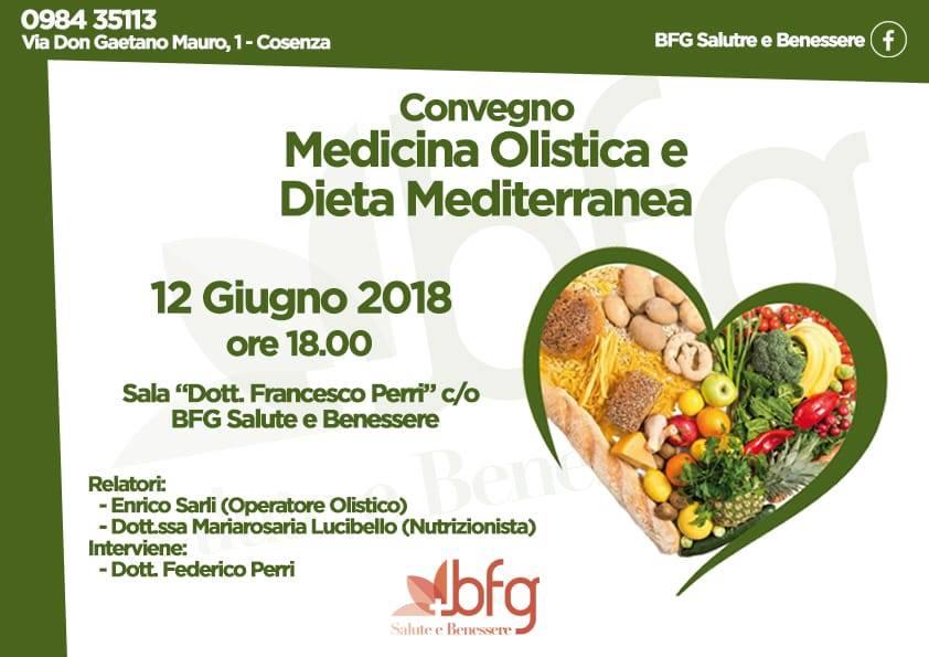Cosenza Si Parla Di Medicina Olistica E Dieta Mediterranea Calabria Live
