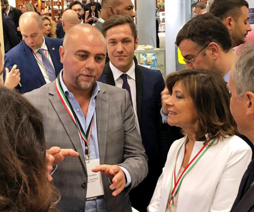 Il Presidente del Senato al Fancy Food