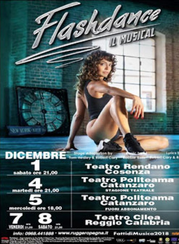 In arrivo in Calabria Flashdance Musical