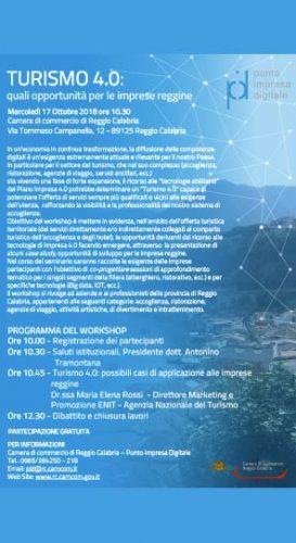 REGGIO – Workshop Turismo alla Camera di Commercio