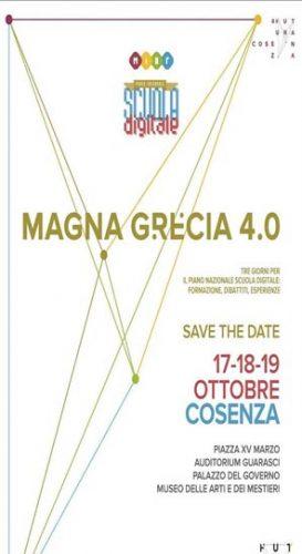 """COSENZA – Arriva la Scuola Digitale """"Magna Grecia 4.0"""""""