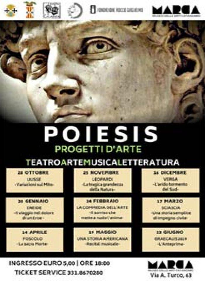 CATANZARO – La nuova Stagione Teatrale del Teatro di Calabria