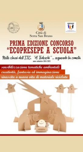 SERRA SAN BRUNO – Un concorso per l'EcoPresepe