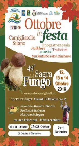 CAMIGLIATELLO SILANO – La sagra del fungo