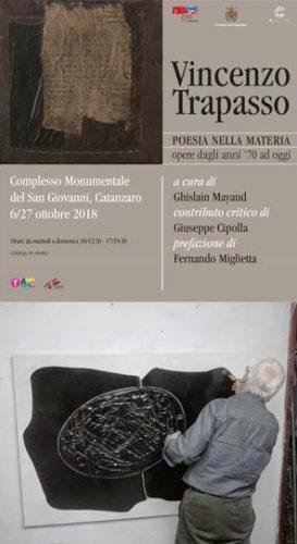 CATANZARO – Al San Giovanni la mostra di Vincenzo Trapasso
