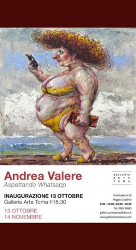 REGGIO – La mostra di Andrea Valere