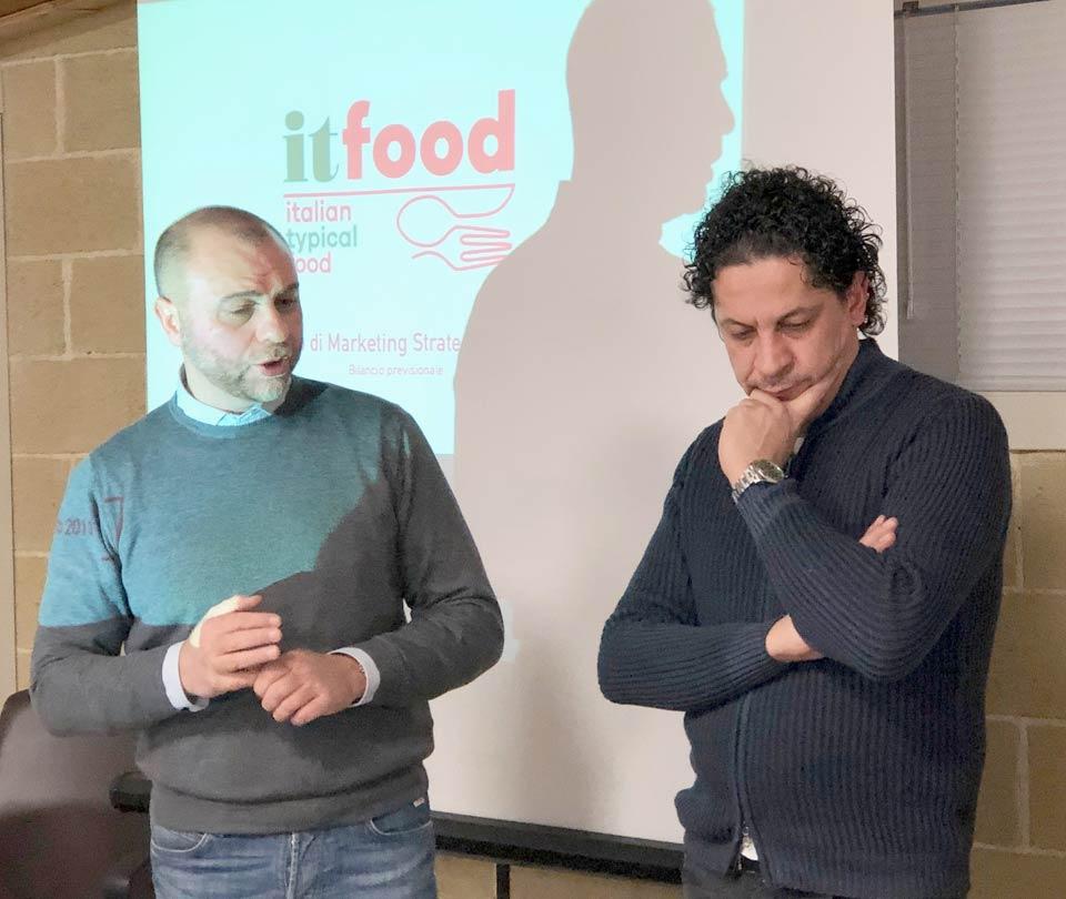 Francesco Mazzei e Gianni Guido