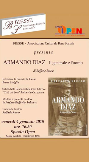 Libro sul generale Armando Diaz