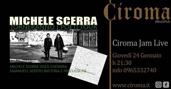 Michele Scerra al Ciroma di Reggio
