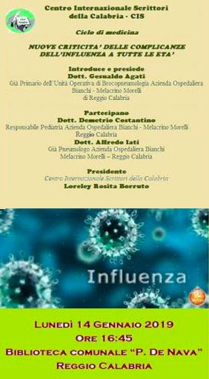 Incontro Cis sull'influenza