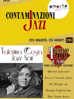 Valentina Costa noir jazz catanzaro