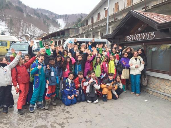 Scuola di sci a Villaggio Palumbo