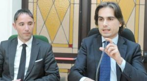 Riccardo Mauro e Giuseppe Falcomatà