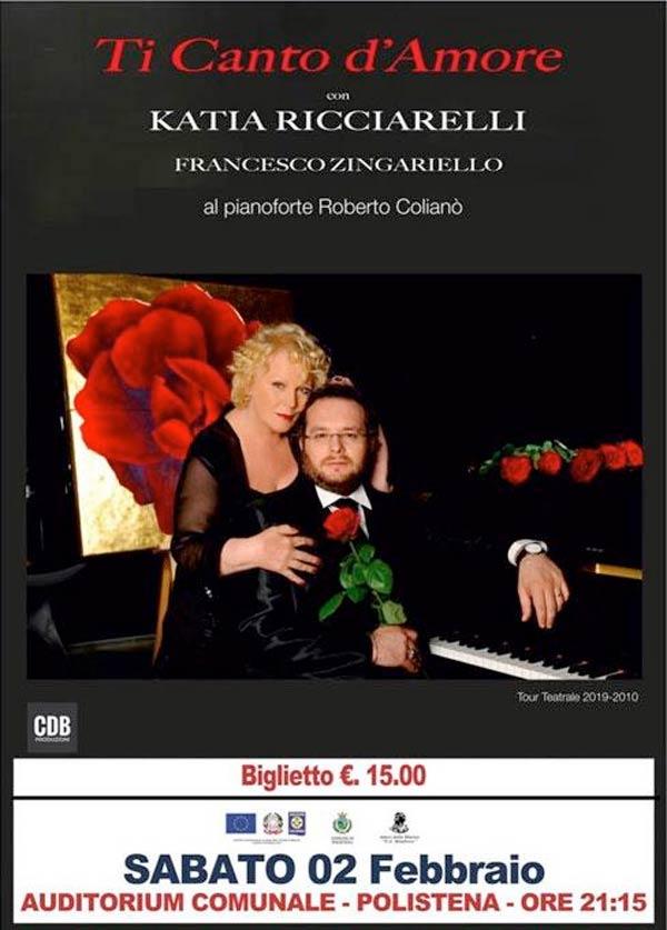 Katia Ricciarelli e Francesco Zingariello