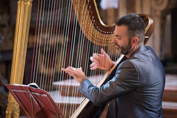 concerto arpista Davide Burani
