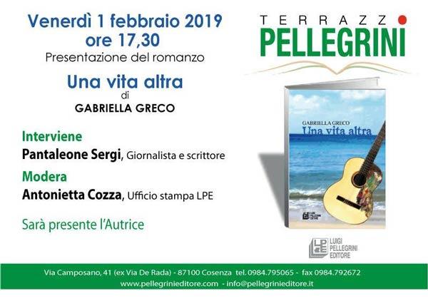 Libro di Gabriella Greco a Cosenza