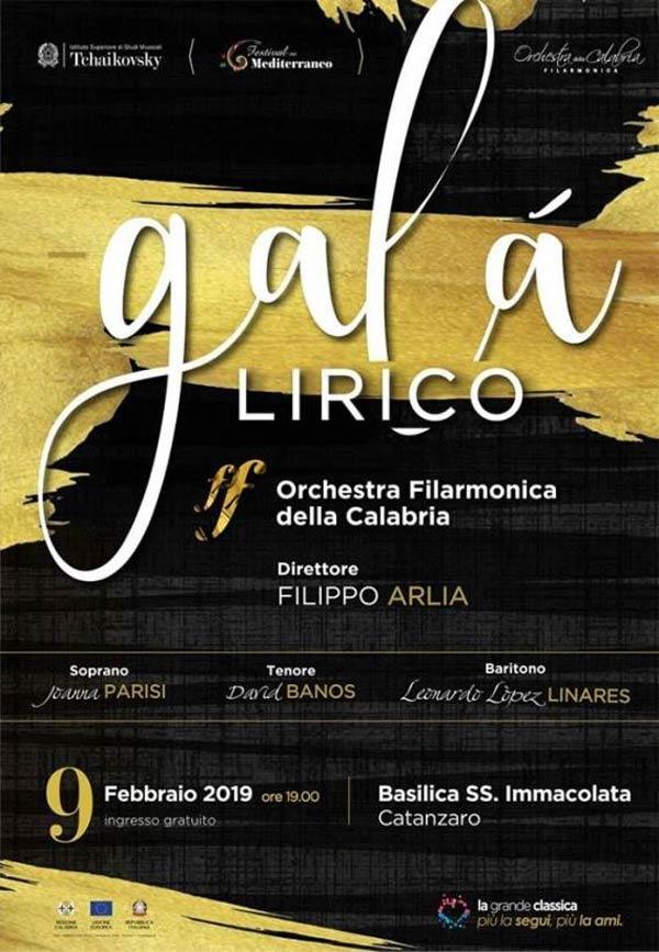 Catanzaro Il Gala Lirico Dell Orchestra Filarmonica Della Calabria Calabria Live
