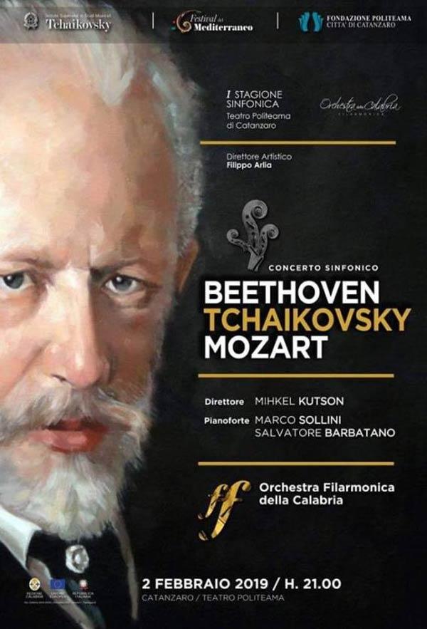 concerto Orchestra Filarmonica della Calabria a Catanzaro