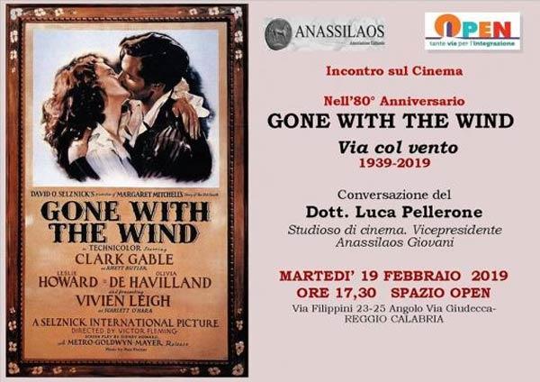 80esimo anniversario di Via col vento