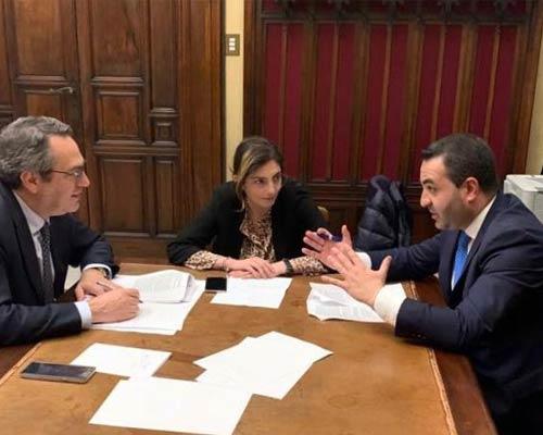 Francesco Cannizzaro, Laura Castelli, Maurizio D'Ettore