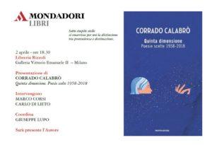 Corrado Calabrò a Milano