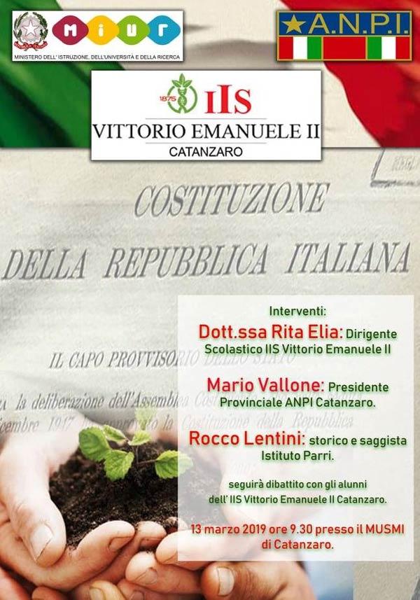 I ragazzi dell'Agrario di Catanzaro parlano della Costituzione