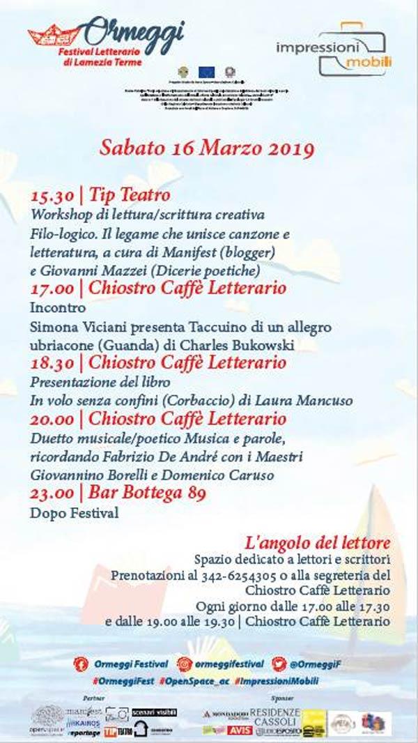 Ormeggi. Festival Letterario