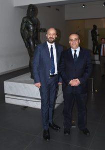 Carmelo Malacrino e Alberto Bonisoli