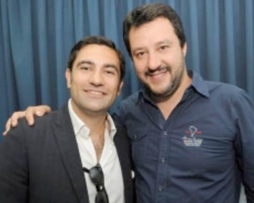 Domenico Furgiuele e Matteo Salvini