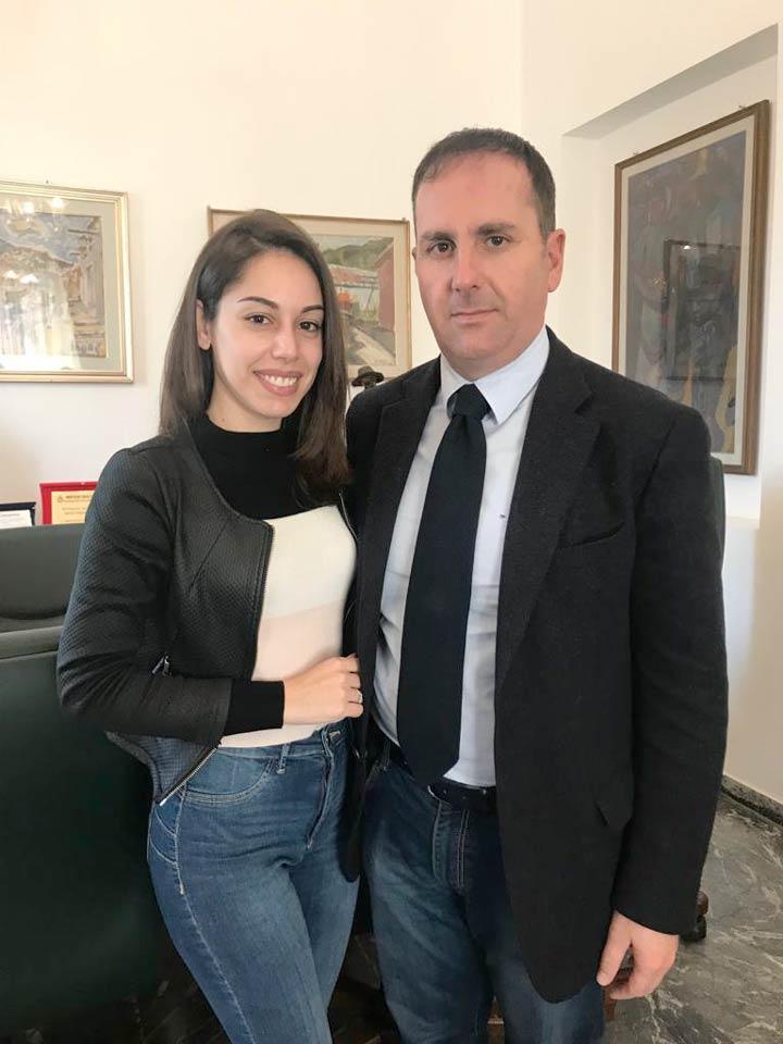 Francesca Porpiglia e Giovanni Siclari