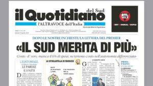 Quotidiano del Sud L'Altravoce dell'Italia