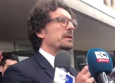 Danilo Toninelli a Gioia Tauro