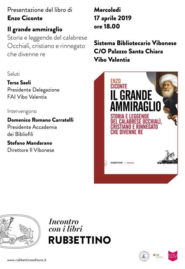 Il libro Il grande ammiraglio di Enzo Ciconte