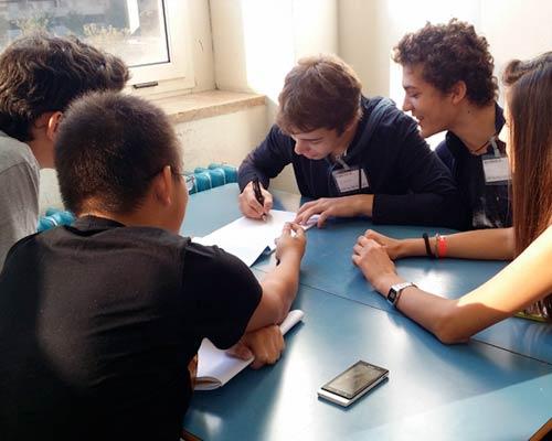 Studenti italiani all'estero