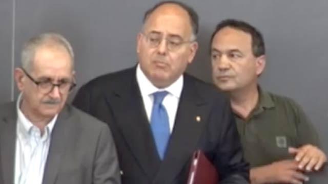 Vito Teti, Eugenio Gaudio e Mimì Lucano