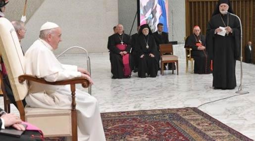 L'udienza di Papa Francesco all'Eparchia di Lungro