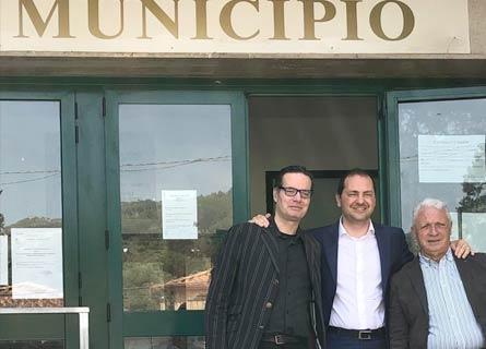 Klaus Davi, Marco Siclari e Bruno Bartolo
