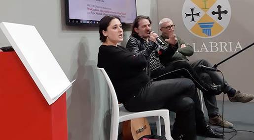 Maria Teresa Marzano, Peppe Voltarelli e Gilberto Floriani