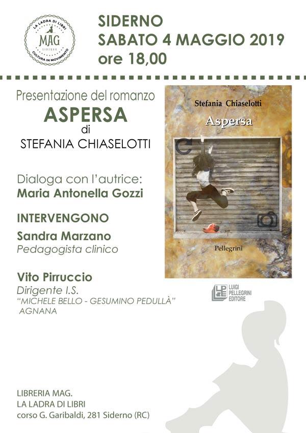 Aspersa di Stefania Chiaselotti