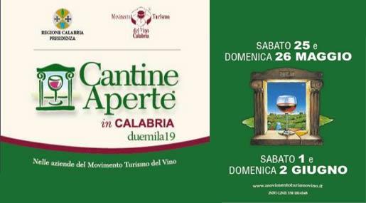 Cantine Aperte in Calabria 2019