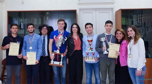 Il Liceo Da Vinci vince le Olimpiadi della Cultura e del Talento