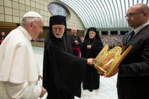Il dono dell'Eparchia di Lungro a Papa Francesco
