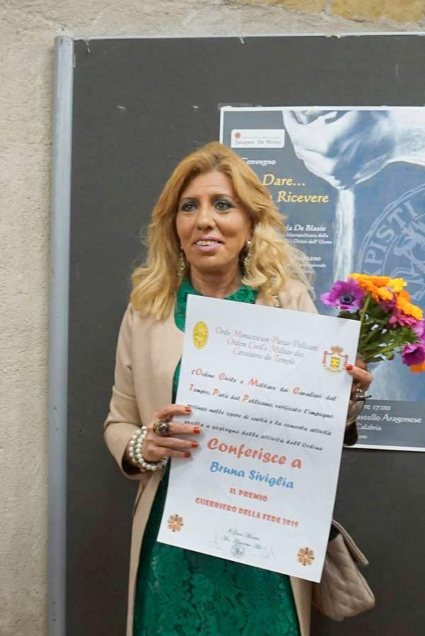 A Siviglia il Premio Guerriero della Fede 2019