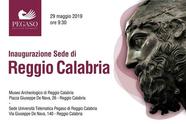 REGGIO - L'inaugurazione della sede UniPegaso - Calabria.Live