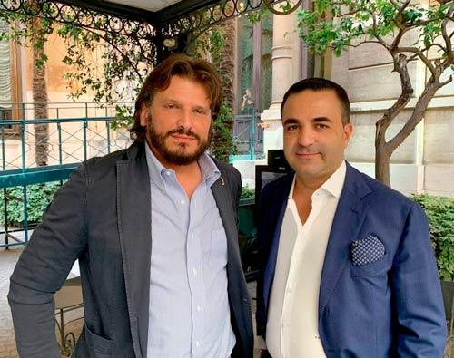 Cristian Invernizzi e Francesco Cannizzaro