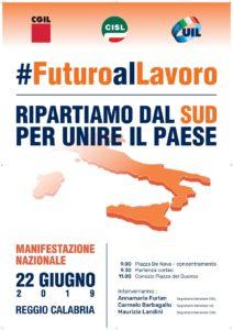 Futuro al Lavoro 22 giugno a Reggio Calabria