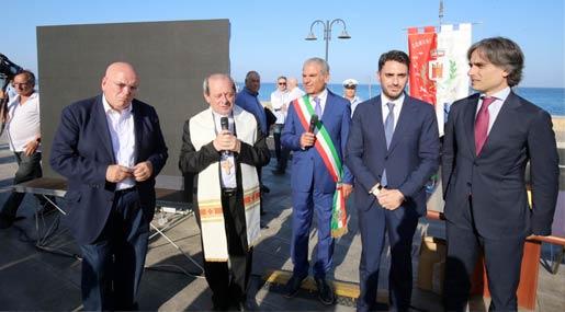 Inaugurazione lungomare Monasterace