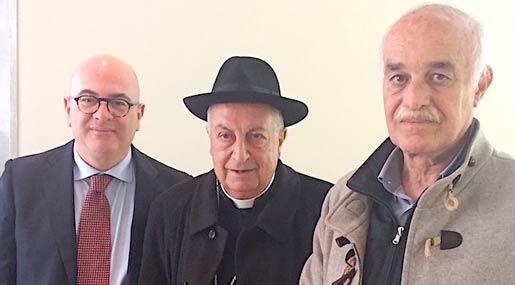 Carlo Parisi, Salvatore Nunnari e Andrea Musmeci