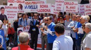 Protesta calabresi a Montecitorio