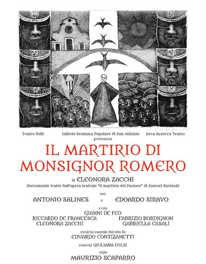 Il Martirio di mons. Romero